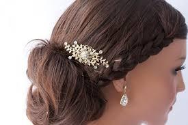 rhinestone hair small rhinestone hair comb leaves comb wedding hair accessories