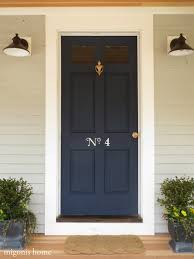 increase curb appeal by painting charming house numbers on your