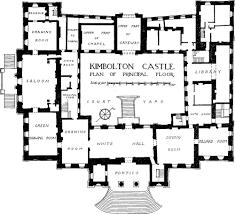 kimbolton castle plan of principal floor castle floor plans swawou