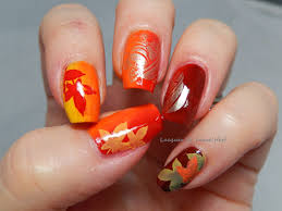 thanksgiving nail polish colors lacquer or leave her november 2014