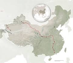 China Train Map by Travel 3 000 Miles Through China U0027s Wondrous Wild West