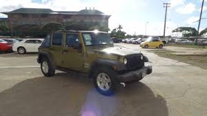 pre owned 2008 jeep wrangler unlimited x convertible in honolulu