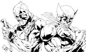wolverine coloring pages wolverine color pagesjpg coloring