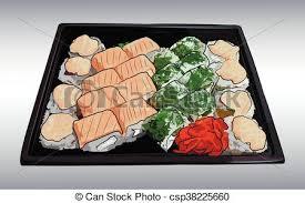 cuisine traditionnelle japonaise cuisine traditionnelle japonaise sushi rouleaux clip