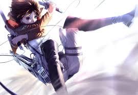 sword wallpaper mikasa ackerman anime anime red brown