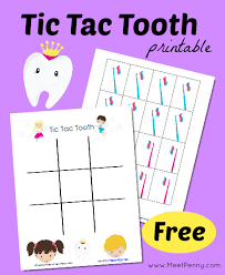 10 worksheets that will teach children the basics of dental health