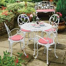 white outdoor table and chairs 8 best cast aluminum outdoor furniture images on pinterest