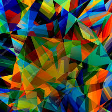 conceptmodern colorful geometric background abstract triangular pattern
