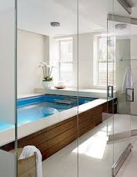 Small Indoor Pools Swimming Pool In A Garage Garage Swimming Pool Endless Pools