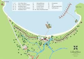 fiji resort map maps likuliku lagoon resort fiji