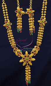 nl0715 exclusive gold imitation jewelry design ruby stones