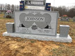 upright headstones mckinney brown funeral home monuments liberty ky funeral home