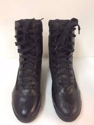 magnum hi tech black leather military police tactical 1152 mens
