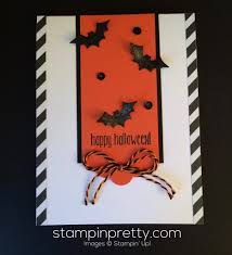 halloween greeting cards batty for this halloween card stampin u0027 pretty