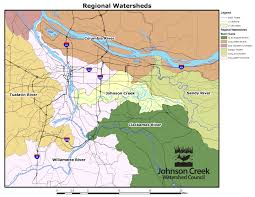 Map Of Beaverton Oregon by Watershed Maps U2013 Johnson Creek Watershed Council