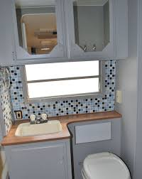 Bathroom Sink Backsplash Ideas Decor Small Bathroom Design With White Vanity Cabinets And Peel