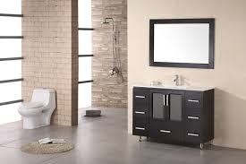exciting modern bathroom vanity ideas in sleek finishing