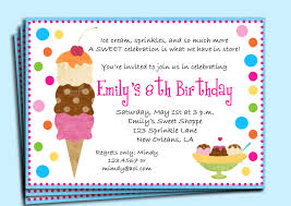 ice skating birthday party invitations ice cream birthday party invitation printable or printed with