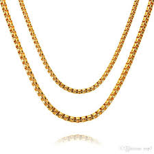 new necklace chain images 2018 2018 new new fashion round box chain gold long style hip hop jpg