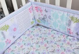 Cot Duvet Set Promotion 4pcs Embroidery Baby Crib Nursery Bedding Set Cot