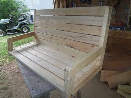 randy whittemire u0027s 2 4 porch swing jays custom creations