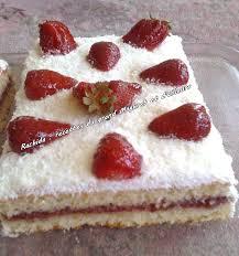 jeux de aux fraises cuisine gateaux génoise à la confiture de fraise et chantilly recettes algériennes