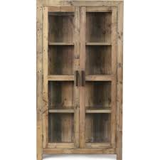 Curio Cabinets With Glass Doors Curio Cabinet Glass Front Curio Cabinet Handcrafted Using