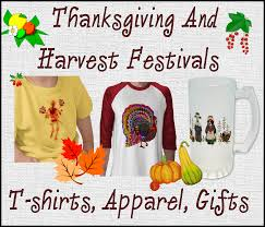 thanksgiving and harvest festival themed t shirts and gifts