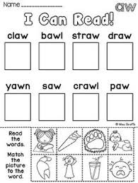 au aw worksheets u0026 activities no prep phonics worksheets