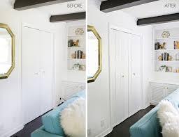 plain white interior doors add geometric panels to your plain closet doors u2013 a beautiful mess