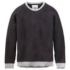 timberland s moose river wool crew neck sweater