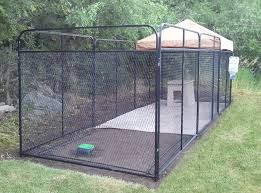 building a dog run how to build dog kennel outdoor dog