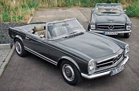 classic mercedes mechatronik transforms a classic mercedes sl into 350k m sl photo