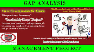 Gaps In Resume Leadership Stage Project Gap Analysis New Jersey Institute Of