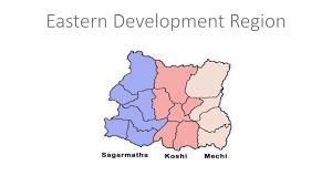 Nepal On Map Development Regions In Nepal Youtube