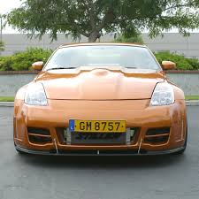 nissan 350z yellow convertible concept z performance