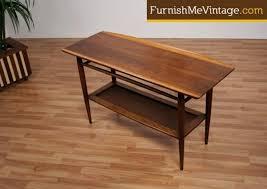 mid century console table century modern bassett console table