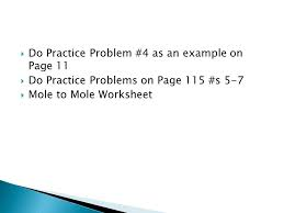 chemistry 521 chapter 4 stoichiometry is the study of the