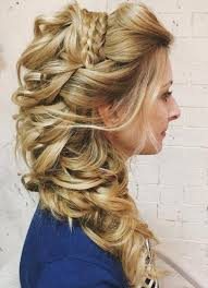 hairpiece stlye for matric 45 side hairstyles for prom to please any taste