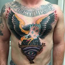 rebel muse tattoos original eagle all seeing eye