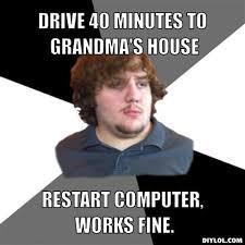 Grandma Internet Meme - grandmother on computer a feast of tales