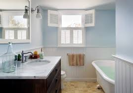 Installing Wainscoting In Bathroom - wainscoting in bathroom image u2014 the clayton design how to