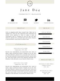 Jd Resume Creative Resume Template And Cover Letter 1 Gemresume Gemresume