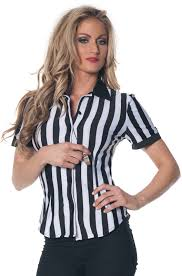 referee costume referee fitted shirt plus size costume purecostumes