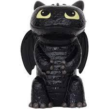 train dragon toothless dragon figrual ceramic bank