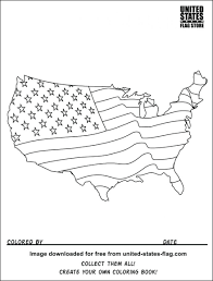 59 Marvellous American Flag Color Sheet Coloring Page For Toddlers Flag Color Page