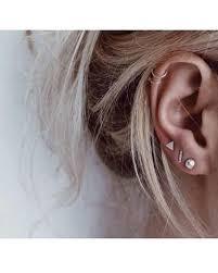 hoop cartilage piercing ear piercings to try this summer at mybodiart ear piercings