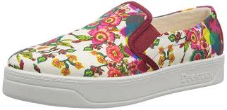 desigual women u0027s abril pink boat shoes 3 5 uk amazon in shoes