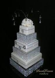 wedding cake with crystals wedding cake crystals and cake