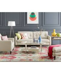 Leather Sofa Sets Closeout Keaton Leather Sofa Collection Created For Macy S